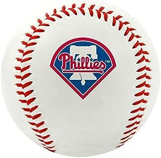 RAWLINGS MLB Philadelphia Phillies Team Logo Baseball, Official, White