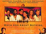 Much Ado About Nothing Poster Movie D 11x17 Kenneth Branagh Emma Thompson Keanu Reeves