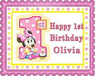 Strange Best Minnie Mouse Birthday Cake Order Of 2020 Top Rated Reviewed Funny Birthday Cards Online Necthendildamsfinfo