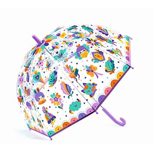 DJECO Regenschirm Regenbogen Iris Accessoires, Jugend Unisex, mehrfarbig (mehrfarbig), einzigartig