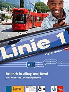 Linie 1 A1.1. Kurs- und Übungsbuch mit DVD-ROM.  Ausgabe für Österreich.: Deutsch in Alltag und Beruf plus Werte- und Orientierungsmodule. Kurs- und Übungsbuch mit DVD-ROM