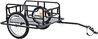 vidaXL Bike Cargo Trailer/Hand Wagon Black 15 gal