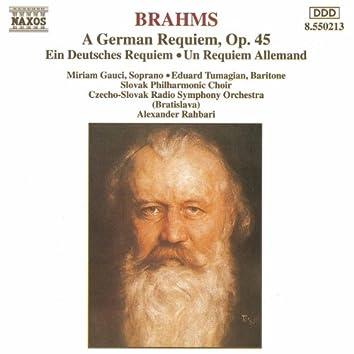 BRAHMS: German Requiem (A), Op. 45