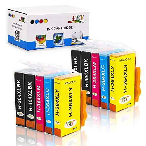 10 cartuchos de tinta compatible con HPNegro, 2 Cian, 2 Magenta, 2 Amarillo