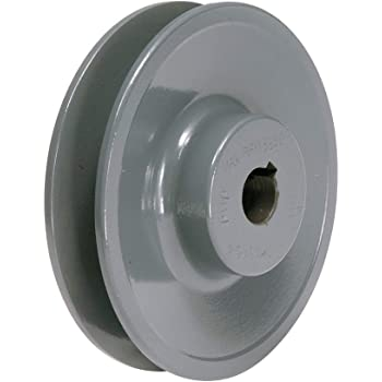 3//4 Fixed Bore 1-Groove Standard V-Belt Pulley 3.75 OD