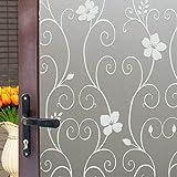 Jiayida ACMOMO - Adesivo decorativo per finestra, non adesivo, pellicola statica anti-UV, TYM01-03 (ACMOMO 75 x 200)