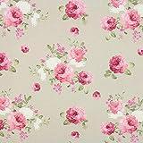 Fabulous Fabrics Canvas Rosella 2 Natur — Meterware ab