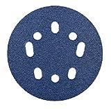 Norton 07660768365 Prosand Universal Vacuum Sanding Disc, Grit 40, 5', 10 Piece