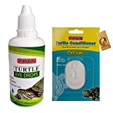 Foodie Puppies Combo Taiyo Turtle Eye Care Drop (50ml) and Turtle Conditioner Calcium