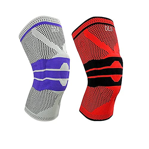 DLS- KNEE BRACE FOR KNEE PAIN- PACK OF 2 -LARGE-...