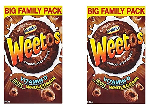 Weetabix Weeto's Crunchy Fun, anillos crujientes de grano en