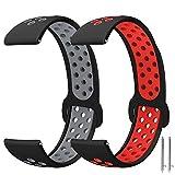 Younsea Correas Huawei Watch GT 46mm/Galaxy Watch 3 45mm, 22mm Silicona Correa para/Gear S3 Frontier/Galaxy Watch 46mm/Gear S3...