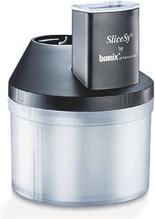 Bamix Bol à râper SliceSy pour mixeur, Plastique, 1 Liter, Noir
