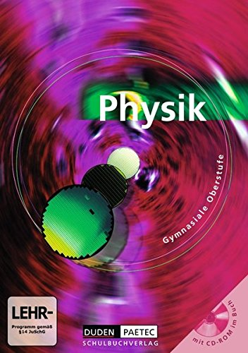 Duden Physik - Gymnasiale Oberstufe (Inkl. CD-ROM)