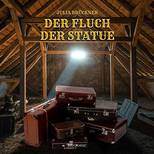 Der Fluch der Statue audiobook cover art