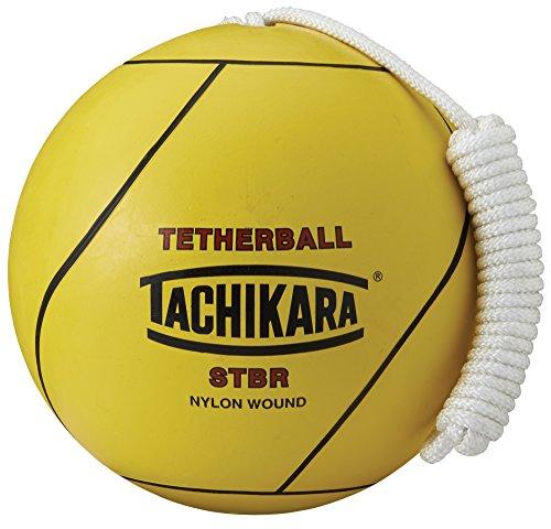 Tachikara STBR Rubber Tetherball , Yellow
