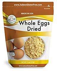 11 oz 100% pure whole egg product, pasteurized, Non GMO, Humanely Produced from UEP certified egg farmers in the USA No additives, only 1 ingredient; Whole Eggs. Produced from the freshest eggs less than 30 days old. Packaged in a Stand-up foil lined...