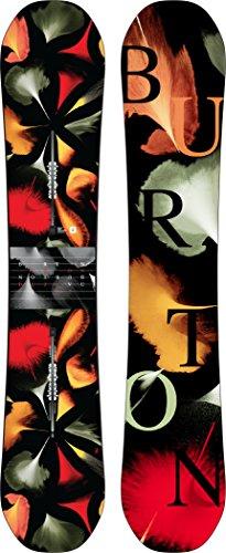 Burton Deja VU 146cm Femenino Rocker/Camber Multicolor Tabla Snowboard - Tablas de Snowboard (Todoterreno, Adulto, Femenino, Rocker/Camber, Multicolor, Estampado)
