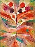 Poster 60 x 80 cm: Federpflanze von Paul Klee -