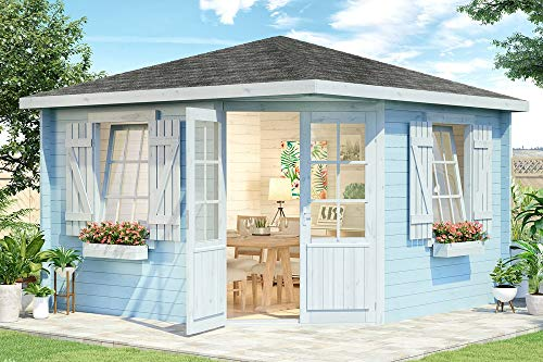 Alpholz 5-Eck Gartenhaus 8 Eckig Monica Royal...