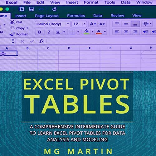 Excel Pivot Tables cover art