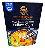 Blue Elephant brand Royal Thai Cuisine YELLOW CURRY PASTE Wt. 70 g. // BENJAWAN shop