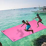 Klismos 12x6 FT Floating Water mat for Water Recreation XPE Foam Water Pad for Pool, Ocean, Lake,Holds up to 880LB