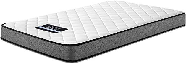 Giselle Bedding Foam Mattress Single Thickness 13cm Bonnell Spring Core Dust Mite Mould-Resistant