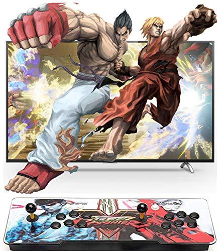 Happyroom Pandoras Box TT Home Arcade Konsole Video Spiel-Konsole, 3160 in 1 Joystick Spielkonsole, 2 Spieler Arcade-Maschine , 1280x720 Full HD, HDMI und VGA Ausgang ,Englische Sprache (D)