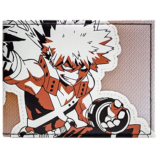 My Hero Academia Katsuki Explosie Quirk Portemonnee Handtas Oranje