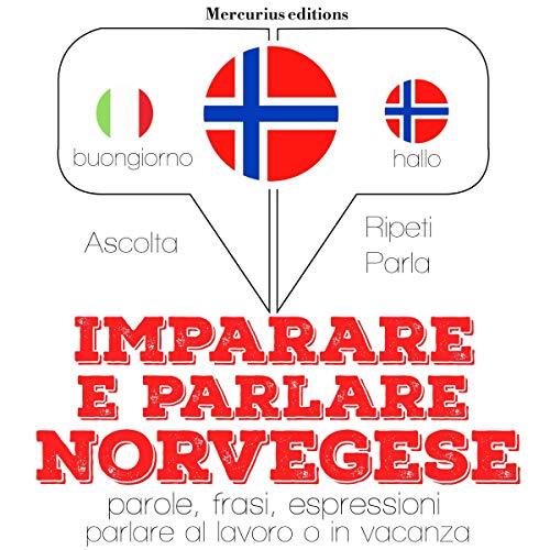 Imparare e parlare Norvegese audiobook cover art