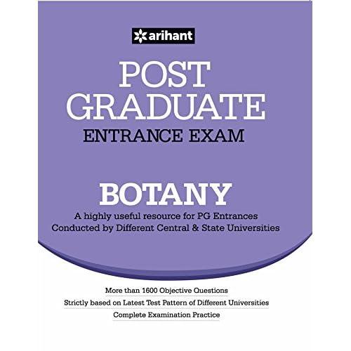 Post Graduate Entrance Examination Botany