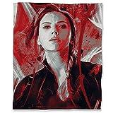 ARYAGO Manta de felpa de franela de terciopelo de 150 x 200 cm, diseño de superhéroe de los vengadores, color rojo