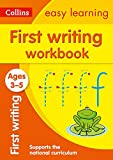 First Writing Workbook Ages 3-5: Prepare for Preschool with easy home learning (Collins Easy Learning Preschool)