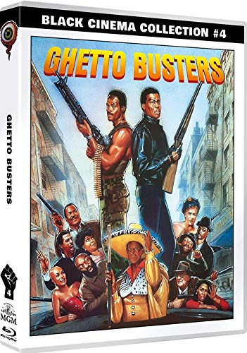 Ghetto Busters - Limited Edition auf 1500 Stück (Black Cinema Collection #04) (Dual-Disc-Set) (+ DVD) [Blu-ray]