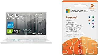 ASUS ゲーミングノートパソコン TUF Dash F15 FX516PM(インテル Core i5-11300H/16GB, 512GB/1,920×1,080/RTX 3060 Laptop GPU/15.6インチ/ムーンライトホワイト)...