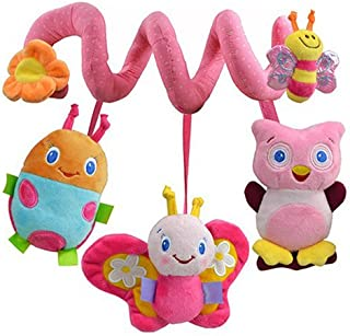 Anniston Kids Toys, Multifunction Lovely Baby Bed Hanging Rattle Butterfly Bee Owl Soft Crib Toy Baby Toys for Children To...