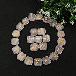 rose quartz crystal runes