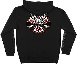 Independent Trucks x Thrasher Magazine Pentagram Cross Men's Pullover Hoodie - Black - Large