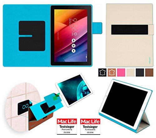 reboon Hülle für Asus Zenpad 10 Z300M Tasche Cover Case Bumper | in Beige | Testsieger