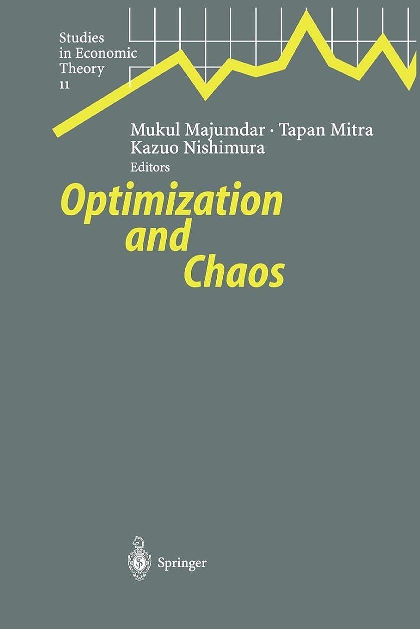 航海見て蒸気Optimization and Chaos (Studies in Economic Theory)