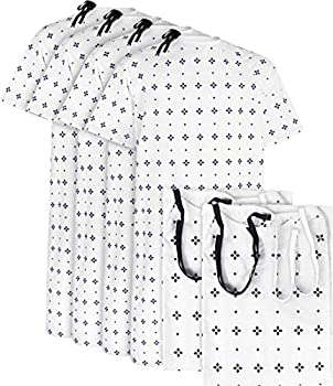 Utopia Care 6 Pack Cotton Blend Unisex Hospital Gown Fits Sizes up to 2XL Blue