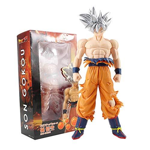 VNNY 31cm Dragon Ball Z Super Ultra Instinct Goku Jiren Migatte Figurines PVC Figura de acción Juguetes Modelo muñeca-si