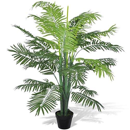 FZYHFA Artificiel Phoenix Palm Tree avec Pot pour Jardin, Home Decor 130 cm