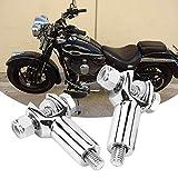 Harley Davidson Passenger Foot Peg Support Mount Clevis Kit Fits for Harley Softail 2000-2006 Fatboy Flstf Efi Flstfi Heritage Springer Flsts