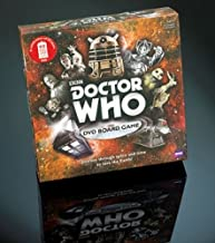 Doctor Who DVD Board Game 50th Anniversary Edition Puzzle Game board