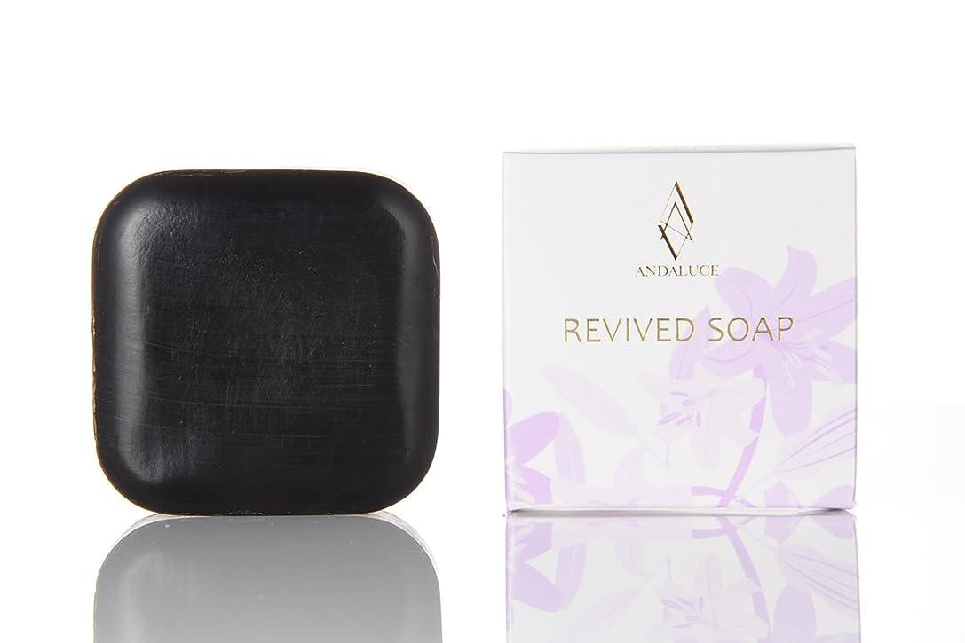 忠実に廃棄する衝突するリバイブドソープ~REVIVED SOAP~(至高のAHAフルーツ酸SOAP)100g