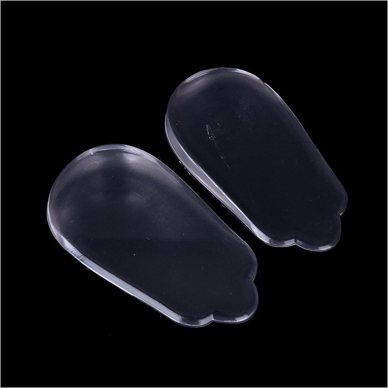 Almohadilla para zapatos 2 unids Plantillas de silicona Orthotics X / O-tipo Piernas Corrector Gel almohada para plantillas ortopédicas Shoes Pad para cuidado de pies Almohadilla de repuesto para zapa