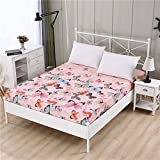 XYSQWZ 1 Stück 100% Polyester Hochwertiges, Aktiv Bedrucktes Spannbetttuch, Verstellbarer Bettbezug, (King, 220 * 240 cm) Bettbezug-Doppelbezug-Set, Bettwäsche Einzelbett