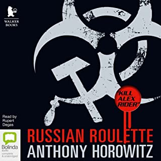 Russian Roulette     The Story of an Assassin (Alex Rider)              By:                                                                                                                                 Anthony Horowitz                               Narrated by:                                                                                                                                 Rupert Degas                      Length: 9 hrs and 58 mins     194 ratings     Overall 4.6